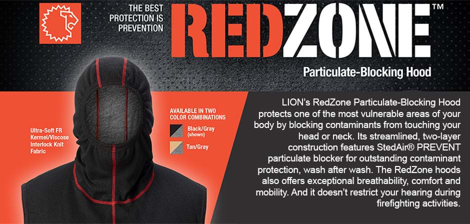 Lion RedZone Firefighter Hood