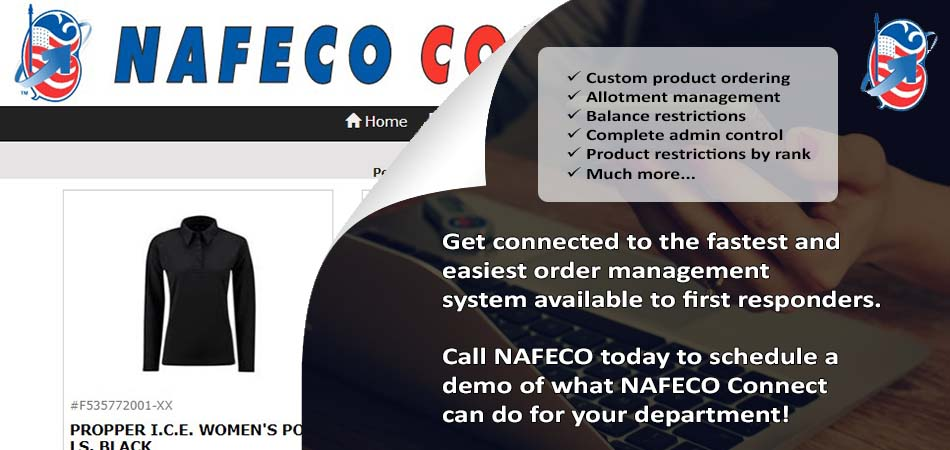 NAFECO Connect - Online Custom Uniform Ordering Platform