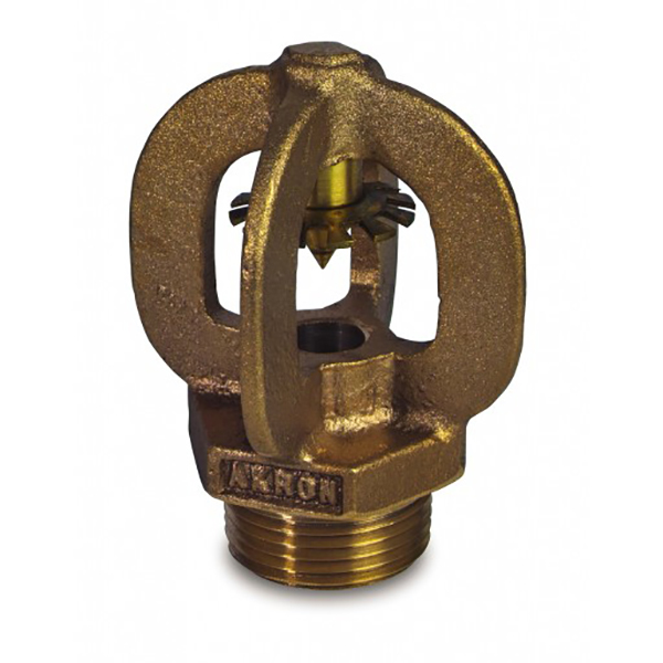 "Akron Nozzle, Coast Guard 1.5"" Head, 1.0"" NPT"