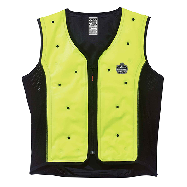 Ergodyne Chill-Its 6685 Premium Cooling Vest, Lime