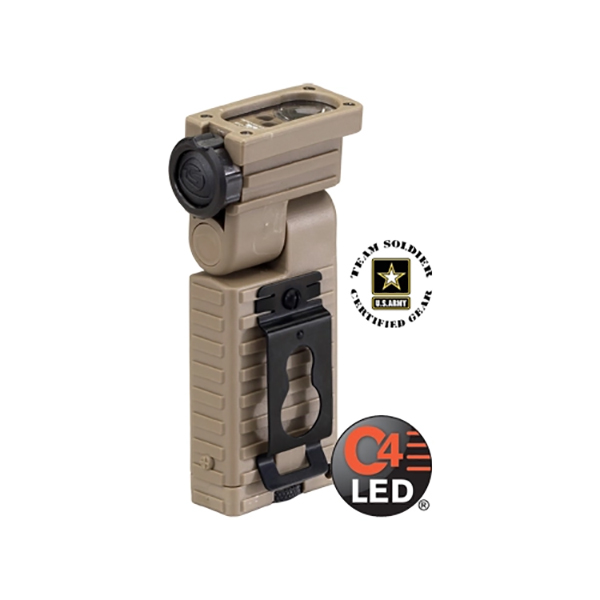 Streamlight Sidewinder C4 LED Aviation Model Coyote Tan