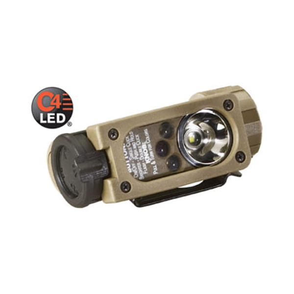Streamlight Sidewinder Compact Aviation, Helmet Mt, Coyote