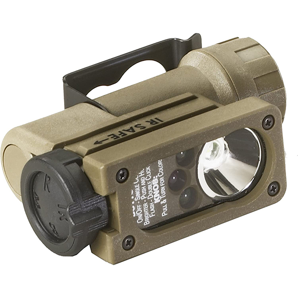 Streamlight Sidewinder Compact II Military, Helmet Mt, Coyote
