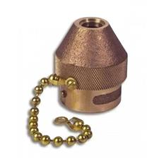 "Akron Fog Tip, 2.5"", Chain, For CG Nozzle, Brass"