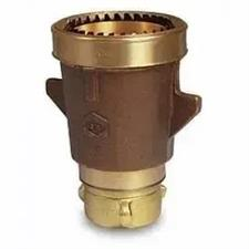 "Akron Nozzle, 3.5"" Masterstream, Brass"