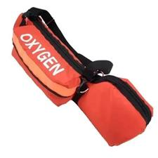 "Oxygen ""E"" Cylinder Bag, Padded Orange"