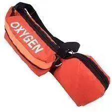 "Oxygen Cylinder Bag, R&B Padded, Orange, ""C"" Cylinder"