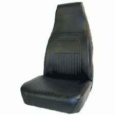 Flamefighter-Non SCBA Seat-Color:Black Vinyl