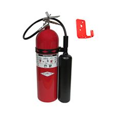 Amerex Extinguisher, CO2 15# w/Wall Bracket