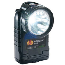 Pelican 4AA LED Right-Angle Handlight, Black