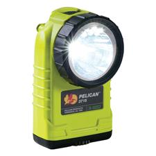Pelican 4AA LED Right-Angle Handlight, Yellow