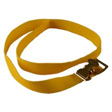 Flamefighter Safety Strap-Light Duty Yellow