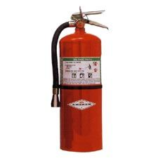 Amerex Extinguisher, Halotron 15.5# w/Vehicle Bracket
