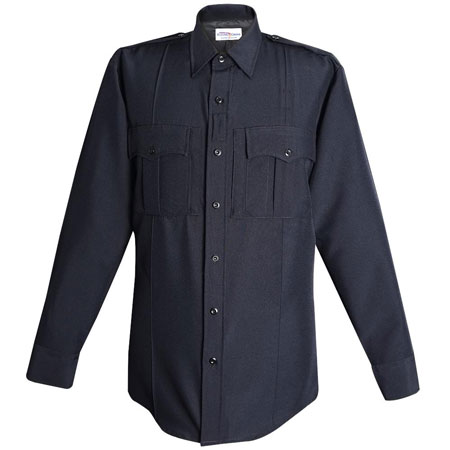 FC Shirt, Command, LAPD Navy 100% Poly, Power Stretch, LS