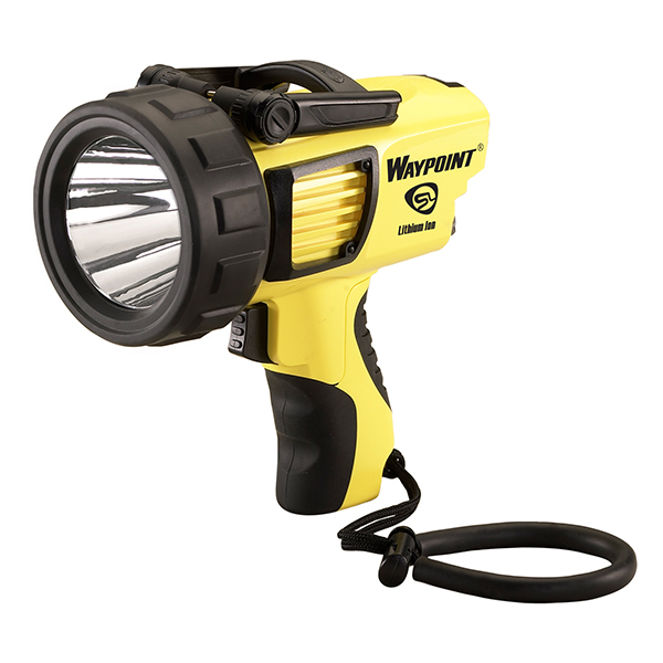 Streamlight WayPoint Spotlight Pistol Grip LED Yellow, 12V DC