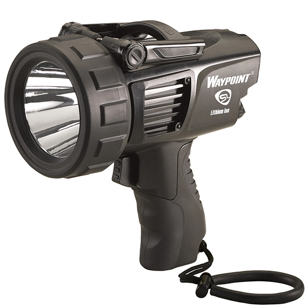 Streamlight WayPoint Spotlight Pistol Grip LED Black, 12V DC