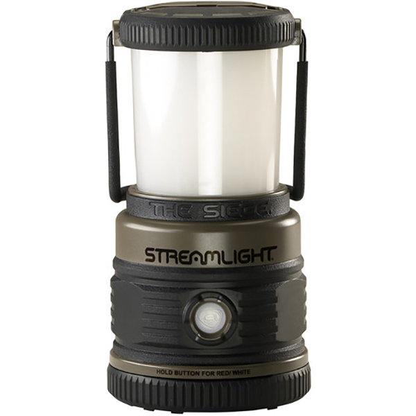 "Streamlight Lantern, LED ""The Siege"", Alkaline, Coyote"