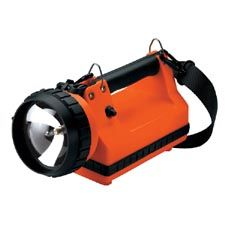 Streamlight LiteBox 20W Flood, AC/DC Charging Rack, Orange