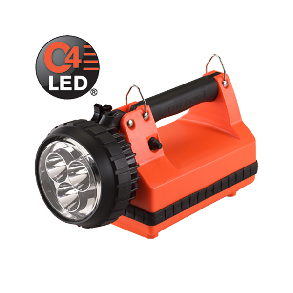 Streamlight E-Spot Litebox LED Lantern, DC/DW Charger,Orange