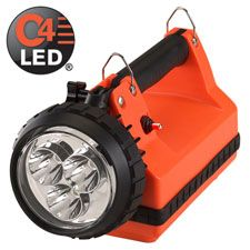 Streamlight E-Spot FireBox LED Lantern, AC/DC Charger, Orange