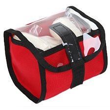 Small Pocket Bag, for EMS/Trauma, Red