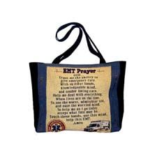 Mill Street Design Tote Bag, EMT Prayer