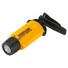 Steamlight ClipMate LED Light, Rotates 360 Degrees, Yellow