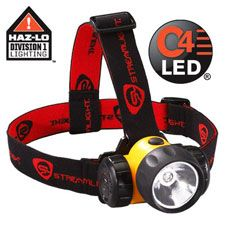 Steamlight HAZ-LO Headlamp, One Watt Super High-Flux LED