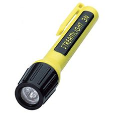 Streamlight 3N Propolymer Led Blue Leds, Lithium, Yellow