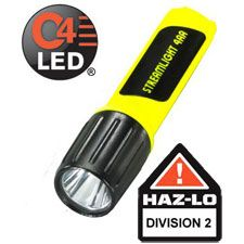 Streamlight 4AA Propolymer LUX LED, Division 2, Yellow