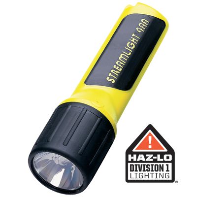 Streamlight 4AA ProPolymer Xenon Flashlight, Yellow