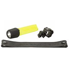 Streamlight Light, 3AA HAZ-LO Helmet Mount, Strap,  LED