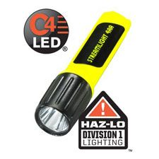 Streamlight 4AA Propolymer LUX LED, Div 1,Bat, Yellow