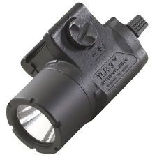Streamlight TLR-3 Tactical Gun Mount LED Light, Rail Mount