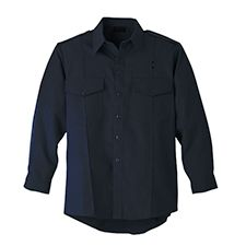 Workrite Shirt, Ladies, Navy, LS, Nomex, 4.5 oz