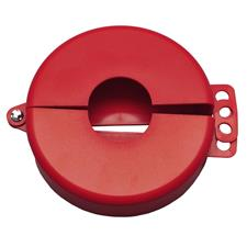 "Zing Safety Lockout Gate Valve Lockout, 2.5""-5"", Plastic"