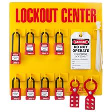 Zing Safety Lockout Station 8 Padlock