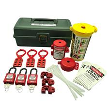Zing Safety Lockout Tagout Kit 32 Pc, Deluxe Tool Box