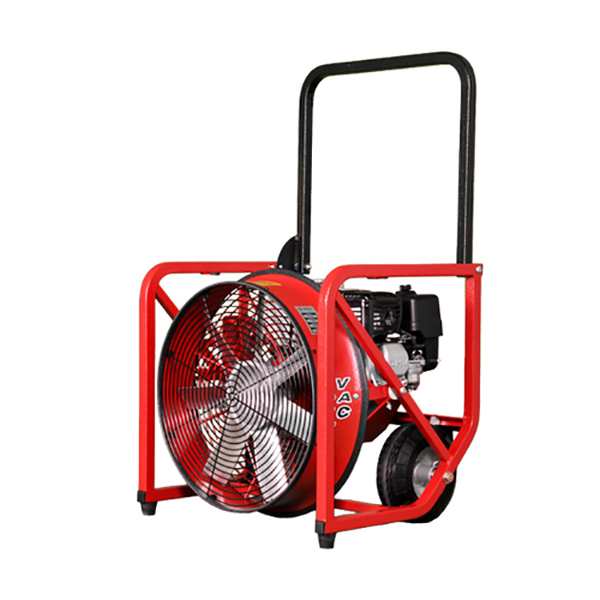 "Super Vac 16"" Gas PPV Fan 4 Hp Honda GX Eng"