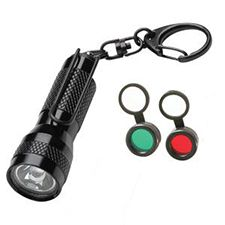 Streamlight Key-Mate Filter Combo, Black, White Led,Red