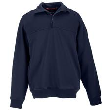 5.11 Jobshirt, Water Repellent Cotton,Navy, 1/4 Zip