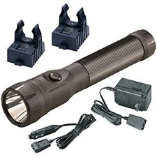 Streamlight Polystinger LED, C4, 120V AC/DC, 2 Holder, Blk