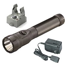 Streamlight Polystinger LED, C4,120V AC Fast Chg, Black