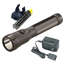 Streamlight Polystinger LED, C4, 120V AC PiggyBack Black