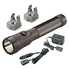 Streamlight Polystinger LED, C4,120V AC/DC Fast Chgr