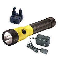 Streamlight Polystinger LED, C4, 120V AC Steady Chgr Yellow