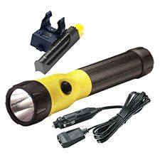 Streamlight Polystinger C4 LED DC PiggyBack Steady Yellow