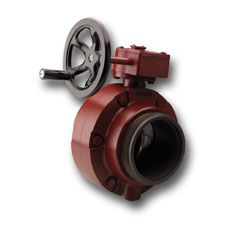 "Akron 4.5"" Butterfly Valve Handwheel, With Adapters"