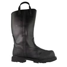"Thorogood Structural Boot, 14"" Leather, Oblique Toe, NFPA"