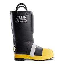 "Thorogood Structural Boot, Rubber, Kevlar Lined, 14"",NFPA"